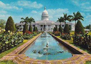 Sri Lanka Ceylon Colombo Town Hall From Vihara Maha Devi Park