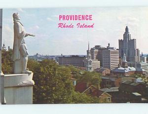 Unused Pre-1980 MONUMENT SCENE Providence Rhode Island RI F1511