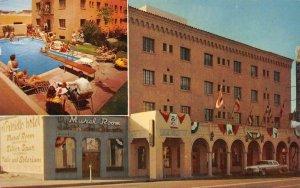 EL PRESIDIO HOTEL Tucson, Arizona Roadside 1961 Vintage Postcard