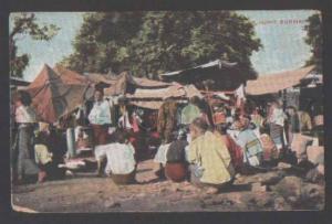 111694 BURMA Bazaar Market - BURMAH Myanmar Vintage PC