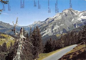 Switzerland Le col de la Croix Reliant Villars s/Ollon aux Diablerets Panorama