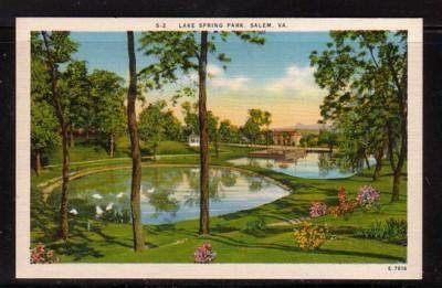 Virginia PC Lake Springs Park, Salem unused