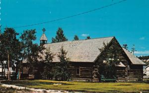 WHITEHORSE, Yukon, Canada, 1940-60s; The Old Log Church