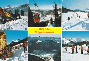 Skiing , MELLAU , Bregenzerwald , Austria , PU-1988
