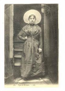 Type De Matelote, Woman Wearing A Typical Dress, Boulogne sur Mer (Pas de Cal...