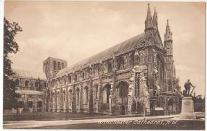 UK, Winchester Cathedral, N.W., unused Postcard