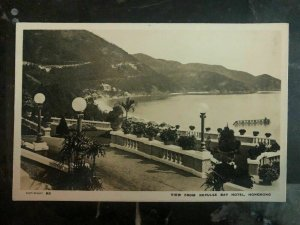 Mint Hong Kong ReAl Picture Postcard View From Repulse Bay Hotel