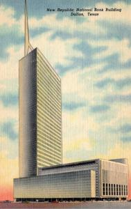 Texas Dallas New Republic National Bank Building Curteich