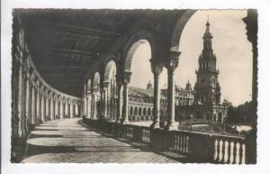 RP  Sevilla, Spain, 1940s Plaza de Espana: Galerias