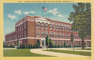 South Carolina Sumter Junior High School Westcalhoun Street