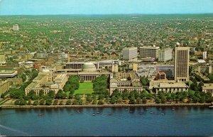Massachusetts Cambridge Aerial View Massachusetts Institute Of Technology and...