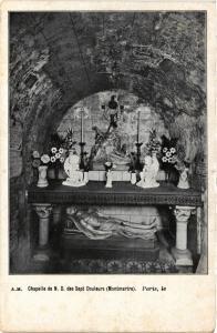 CPA Paris 18e Chapelle de N. D. des Sept Douleurs Montmartre (284891)