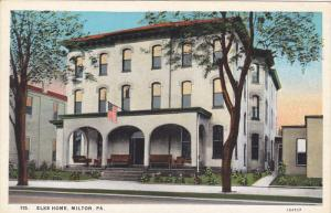 MILTON, Pennsylvania, 1900-1910´s; Elks Home