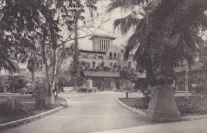 Entrance Mission Inn Riverside California Albertype