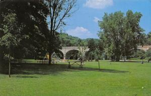 Appleton Wisconsin~Peabody Park~Childrens Playground~Jungle Gym~Monkey Bars~1971