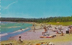 Canada Beach Scene At Inverhuron Provincial Park On Lake Huron Between Kincar...