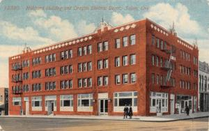 Salem Oregon~Hubbard Building~Oregon Electric Railway Depot~Globe Theatre~1914