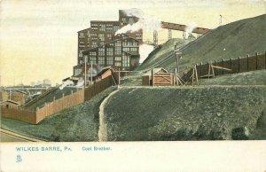 PA, Wilkes Barre, Pennsylvania, Coal Breaker, Rapheal Tuck No. 548