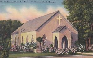 Georgia St Simons Island The St Simons Island Methodist Church