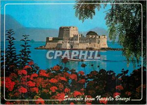 Modern Postcard Nafplion The Picturesque Bourzi