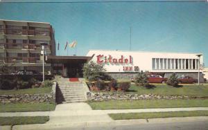 Citadel Inn, Brunswick Street, Halifax, Nova Scotia, Canada, 40-60s
