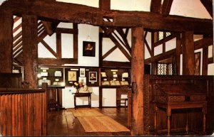 England Stratford Upon Avon Shakespeare's Birthplace The Museum