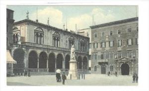 Piazza Dei Signori, La Loggia, Verona (Veneto), Italy, 1900-1910s