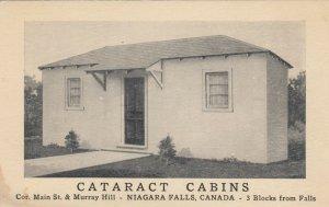 NIAGARA FALLS , Ontario , 1930s ; Cataract Cabins