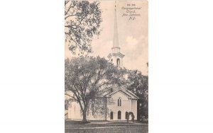 Congregational Church New Lebanon, New York Postcard