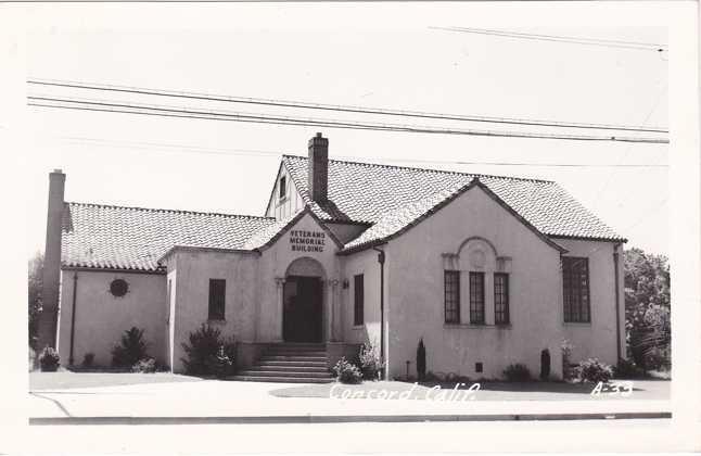 RPPC Veterans Memorial Building - Concord CA, California