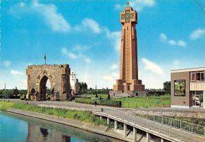 Belgium Diksmuide vlaanderens Ijzermonument Arch Promenade