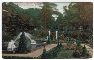Saratoga Springs, N.Y., Canneids Grounds and Gardens