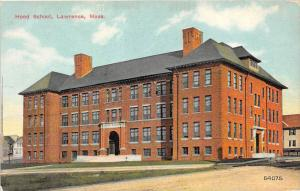 Massachusetts Lawrence   Hood School