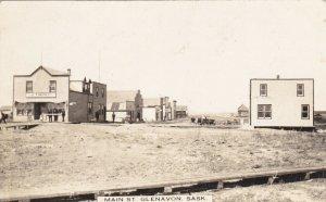 RP: GLENAVON , Saskatchewan , Canada , 1914 ; Main Street