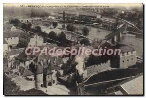 Old Postcard Besancon Les Bains Vue Prize De La Citadelle Porte Rivotte And L...