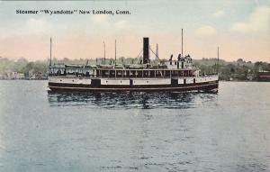 NEW LONDON , Connecticut, 00-10s ; Steamer Wyandotte