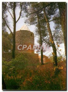 Modern Postcard The mill Le Tholonet