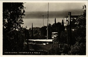 CPA Lago di Garda Vittoriale R. N. Puglia ITALY (801053)
