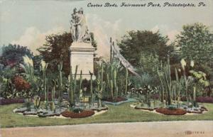 Pennsylvania Philadelphia Cactus Beds Fairmount Park 1913