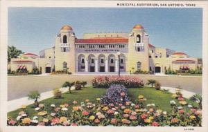Texas San Antonio Municipal Auditorium Curteich
