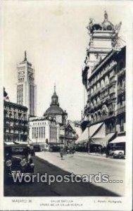 Calle Sevilla, Madrid Spain Tarjeta Postal Postal Used Unknown