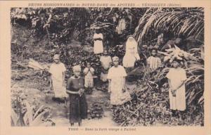 Africa Togo Dans la foret vierge a Palim