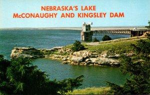 Nebraska Lake McConaughy and Kingsley Dam On North Platte River