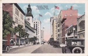 Florida Jacksonville Forsyth Street Looking East