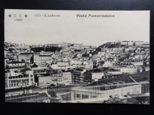 Portugal: LISBON Vista Panoramica - Old Postcard