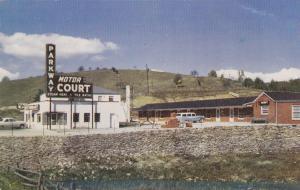 LAUREL SPRINGS, North Carolina; 40-60s; Parkway Motor Court and Restaurant