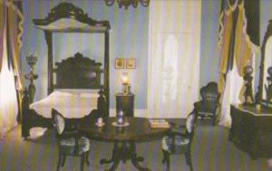Louisiana White Castle Nottoway Plantation The Master Bedroom