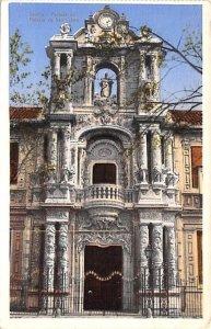 Portada del Palacio de San Telmo Sevilla Spain Unused