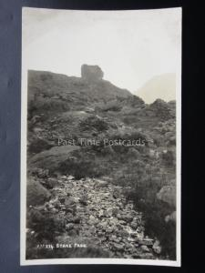 Cumbria THE LAKE DISTRICT Stake Pass - Old RP Postcard by Pettitts of Keswick