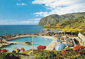 FUNCHAL (Madeira) , Portugal , 50-70s ; Swimming Pool of Madeira Hilton Hotel